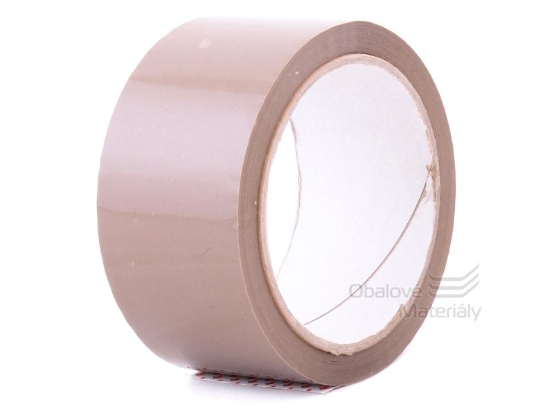 Balící lepící páska 48 mm*66 m, SOLVENT, hnědá