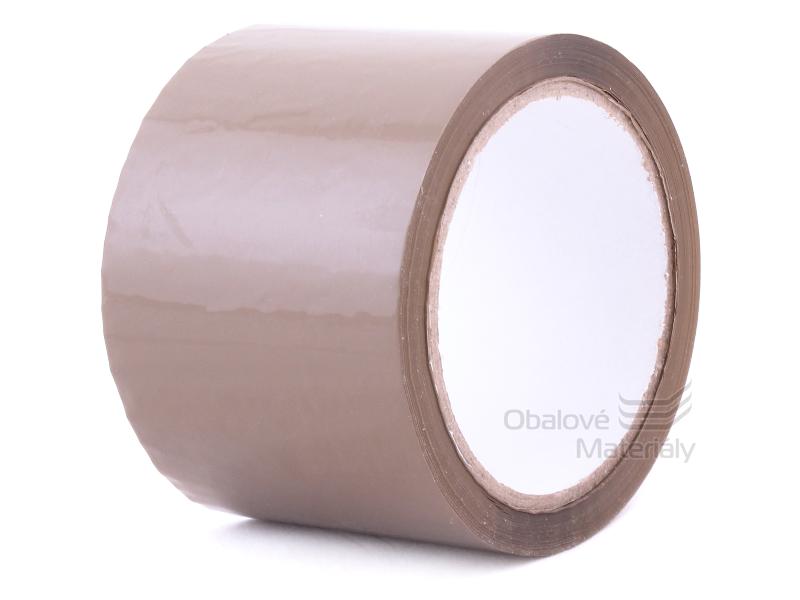 Lepící páska 75mm x 66m havana