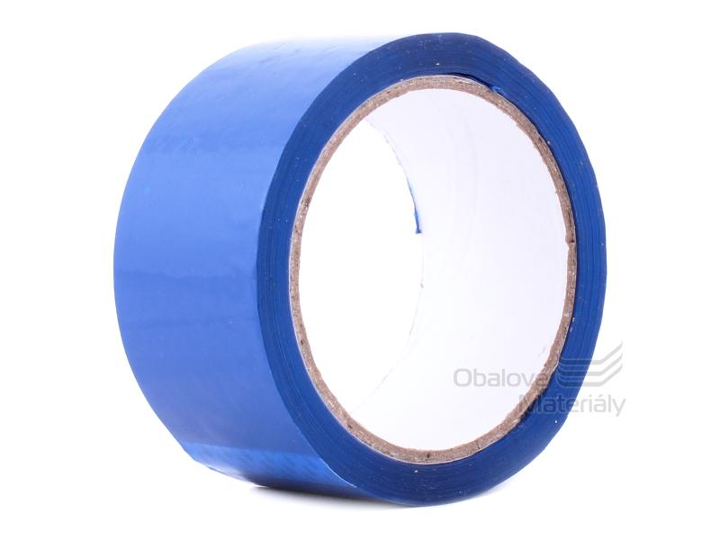 Barevná lepící páska 48 mm*66 m modrá