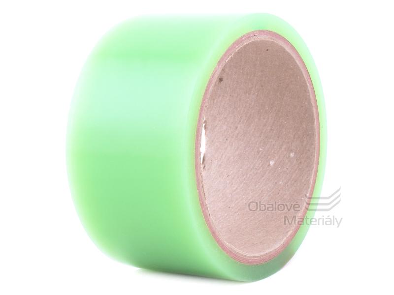 Lepící páska zelená 50mm x 10m