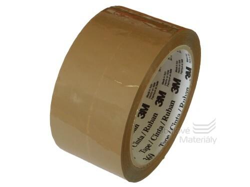 Lepicí páska hnědá 50 mm x 66 m 3M