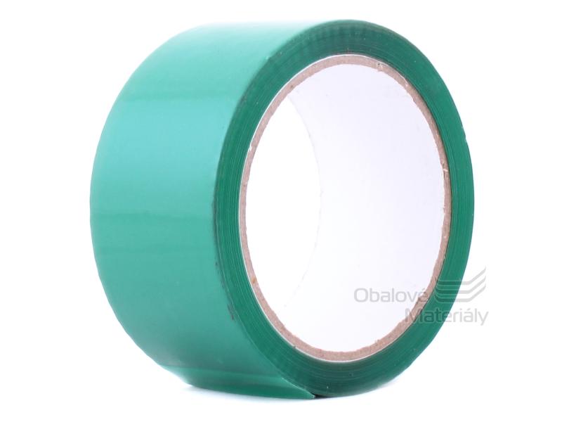 Lepicí páska barevná, 48mm x 50m, zelená