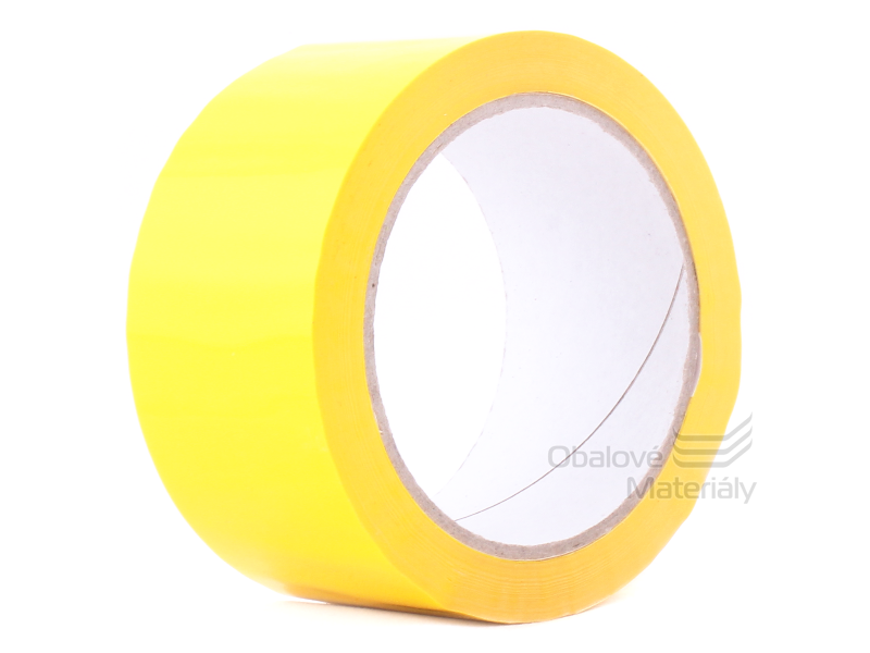 Barevná lepící páska 48 mm*66 m žlutá
