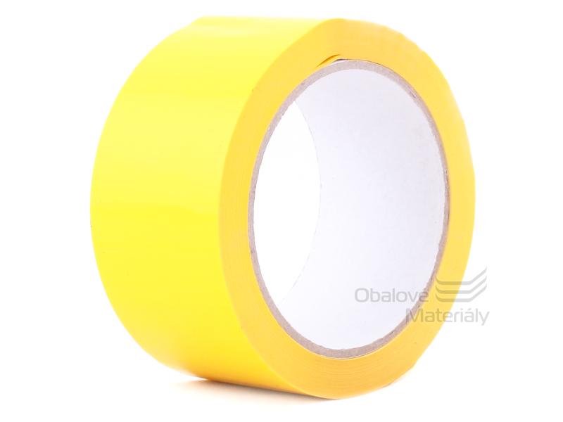 Lepící páska TICHÁ, žlutá, 48 mm*66 m