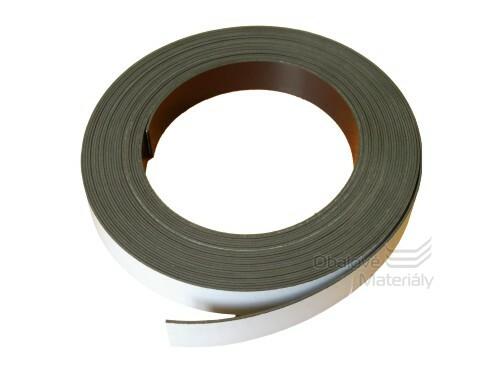 Magnetická páska samolepící 20*1,5 mm/1m