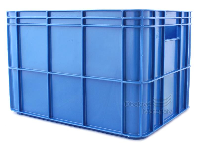 Plastová přepravka plná, 400*300*267 mm