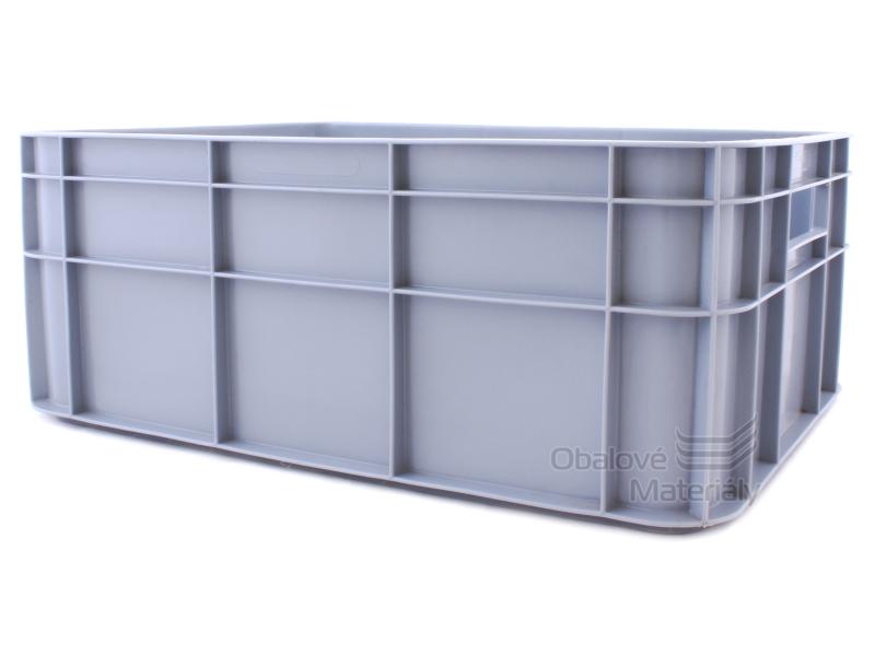 Plastová přepravka plná, 400*300*160 mm