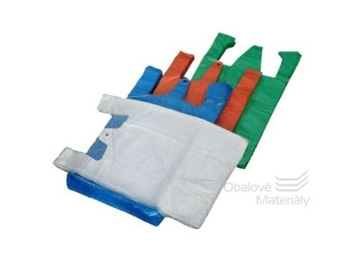 Mikroténová taška bílá 28+14*44cm 100ks