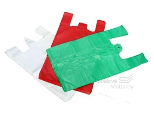 Mikroténová taška barevná 36+20*70 cm, balení 100 ks