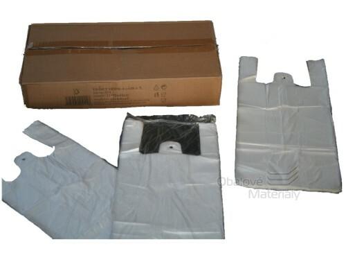 Taška 22+12*40 cm, čirá, balení 100 ks