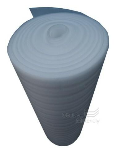 Mirelon, šíře 110cm, návin 50m, tl. 2mm, pěnový polyetylen