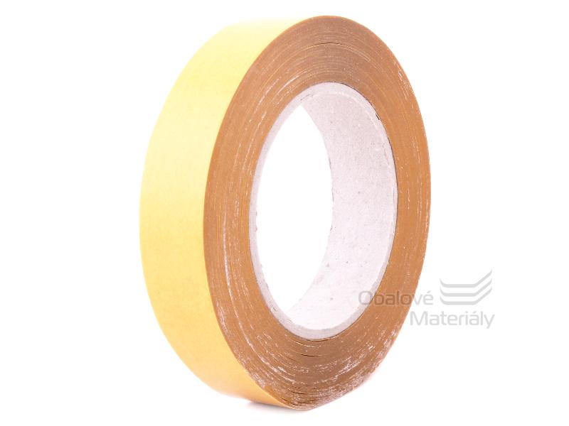 Oboustranná páska PP 25 mm * 50 m, čirá