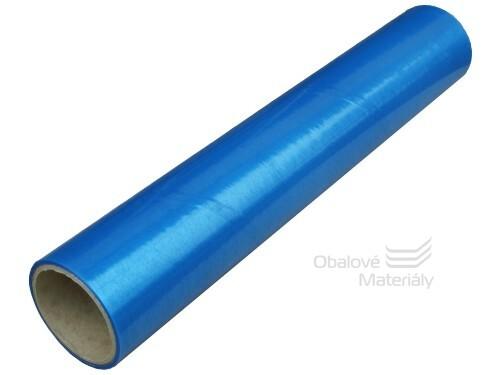 Ochranná fólie na okna 500 mm * 20 m, modrá