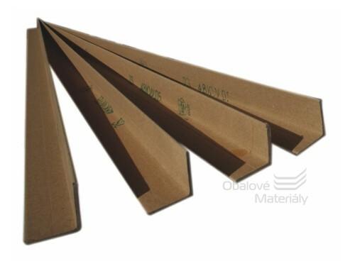 Kartonové ochranné rohy 35*35*2mm, délka 1m