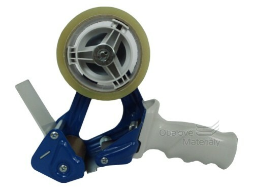 Kvalitní odvíječ, kovový zavírač kartonů s brzdou, šíře 50 mm