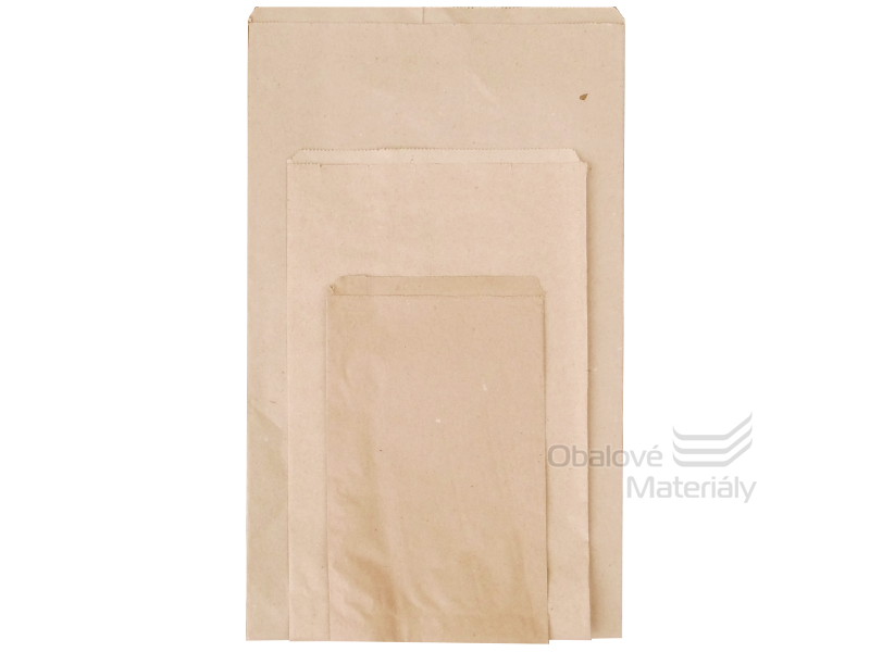 Papírové sáčky na 0,5 kg, rozměr 14*22 cm, balení 0,5 kg = cca 130ks