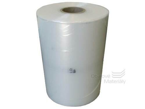 LDPE hadice 300 mm, 100 my, čirá, cca 18 kg
