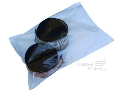 PE sáčky 280*380*0,05 mm, čiré, balení 100 ks