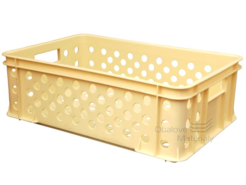 Plastová přepravka na pečivo 600*400*200 mm