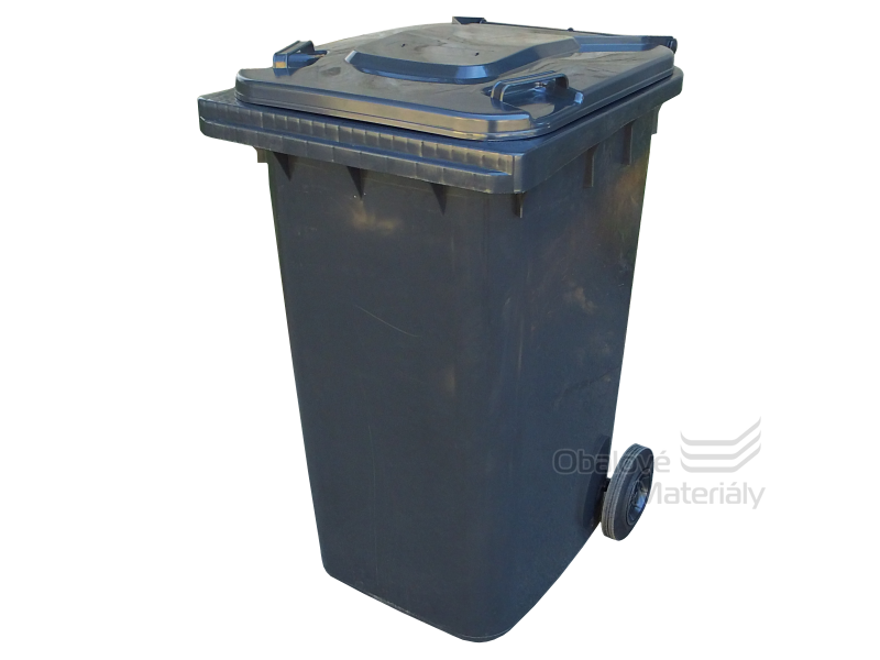 Plastová popelnice 240 L popelnice s kolečky