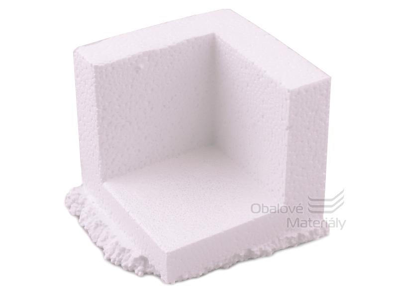 EPS ochranný roh, polystyren, 75*75*75 mm