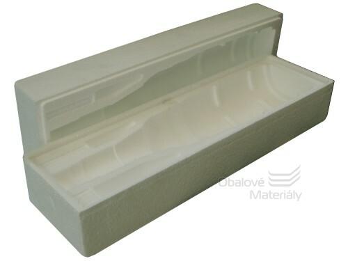 Ochranný obal na lahev - polystyren