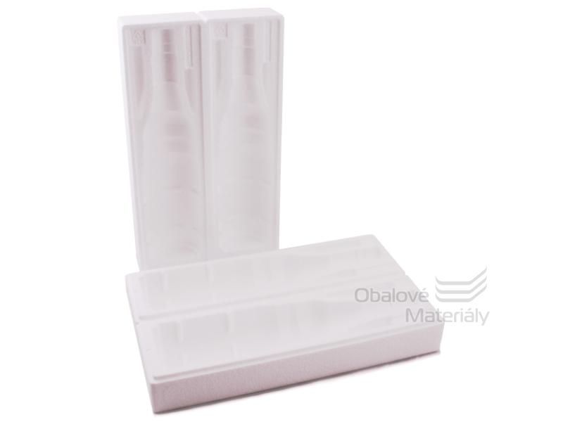 Ochranný obal na 2 lahve - polystyren