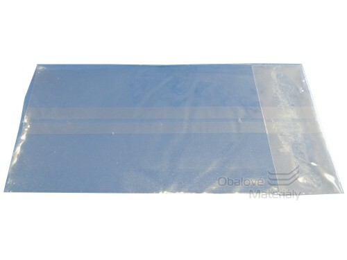 PP sáček - ploché dno 80*158 mm ( bal. 250 ks )
