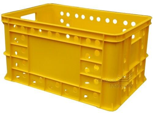 Plastová přepravka na pečivo 600*400*324mm
