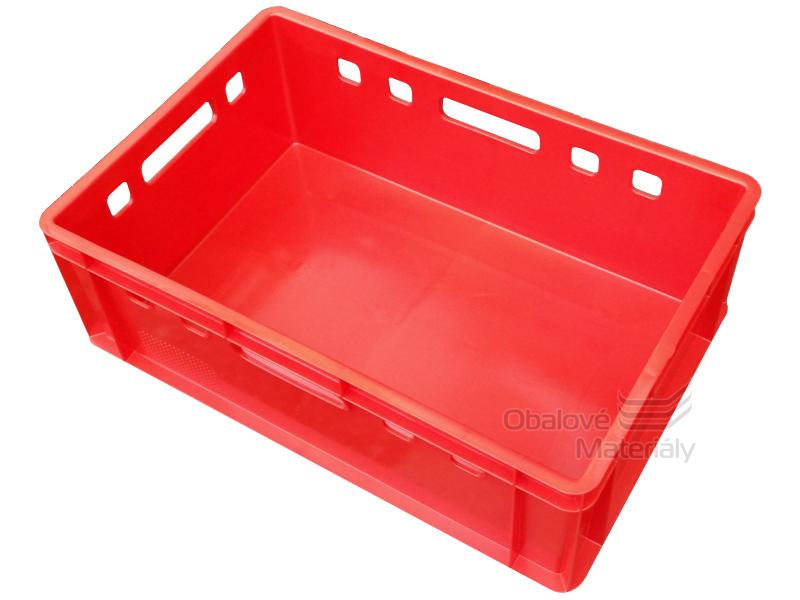 Plastová přepravka E2 600*400*200 mm