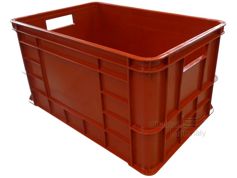 Plastová přepravka na maso 600*400*324mm OZT50 možný potisk