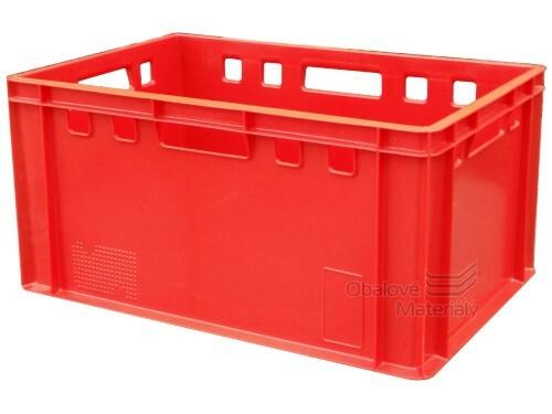 Plastová přepravka na maso E3 600*400*300 mm