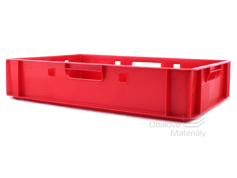 Plastová přepravka na maso E1 600*400*125 mm