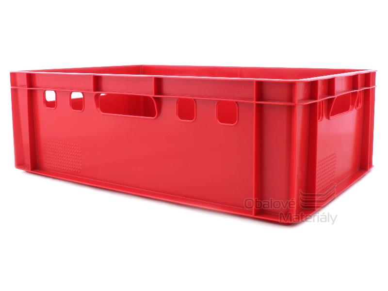 Plastová přepravka na maso E2 600*400*200 mm
