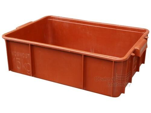Plastová přepravka na maso T25 600*400*170 mm