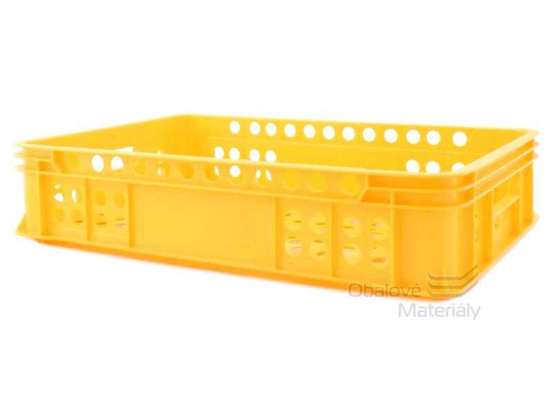 Plastová přepravka na pečivo 600*400*131 mm