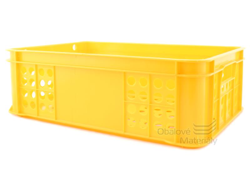 Plastová přepravka na pečivo S1 600*400*200 mm