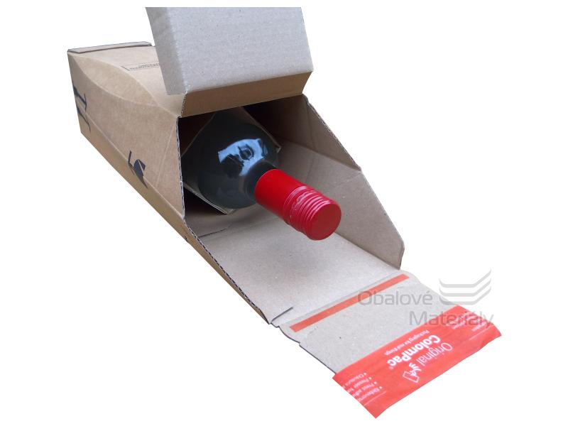 Krabice na víno protinárazová 305*74*74 mm