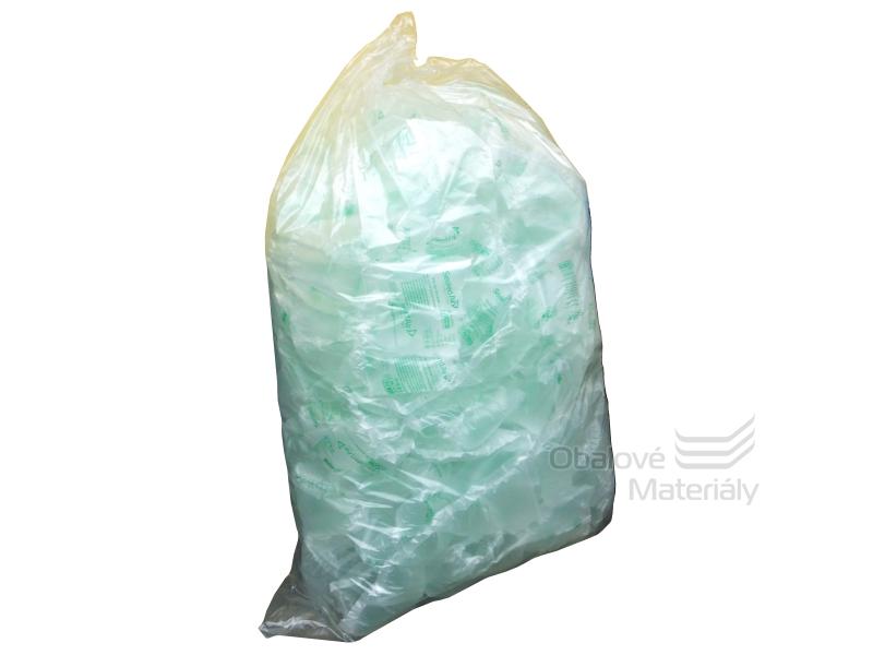 Polyetylenové pytle 100*150 cm, typ 50, nosnost 10 kg - transparentní