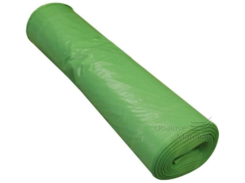 Pytle na odpad 70*110 cm, typ 60, nosnost 20 kg, role 25 ks, zelené