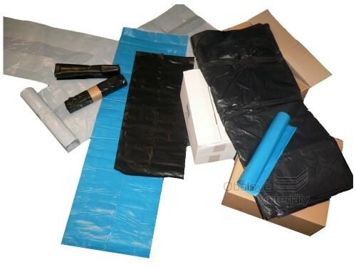 Pytle na odpad 100*120 cm, objem 240 l, modrý, 1 ks