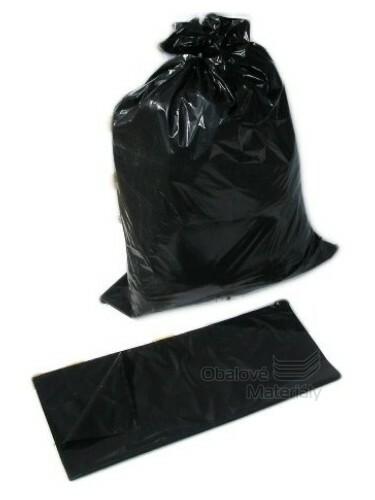 Pytle na suť 120 l, 70*110 cm, typ 200, černý