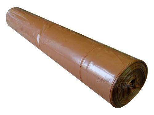 Pytle na odpad 70*80cm 35my hnědé nosnost 10 kg balení 25 ks