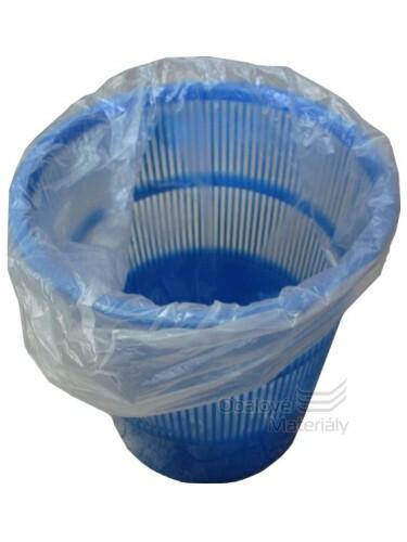 Odpadkové pytle 16l 45*52cm čiré 50 ks