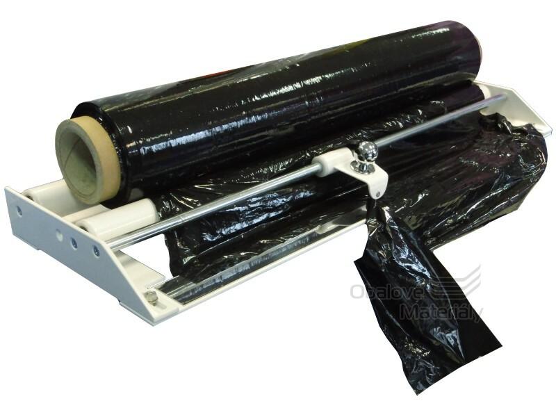 Řezačka potravinových a stretch fólií šíře 90 cm s jezdcem