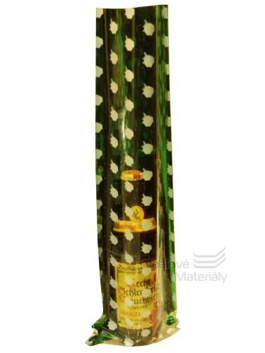 Dárkové sáčky PP, zelené, 15*45,5 cm