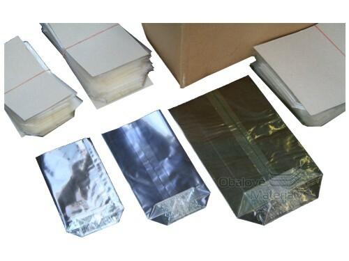 Sáčky PP křížové dno, rozměr 14*21 cm, transparentní, balení 100 ks
