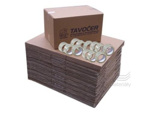Set kartonových krabic na stěhování + expresní dovoz obalů