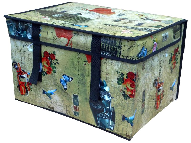 Skládací box 400*300*250 mm, látkový, 30 l