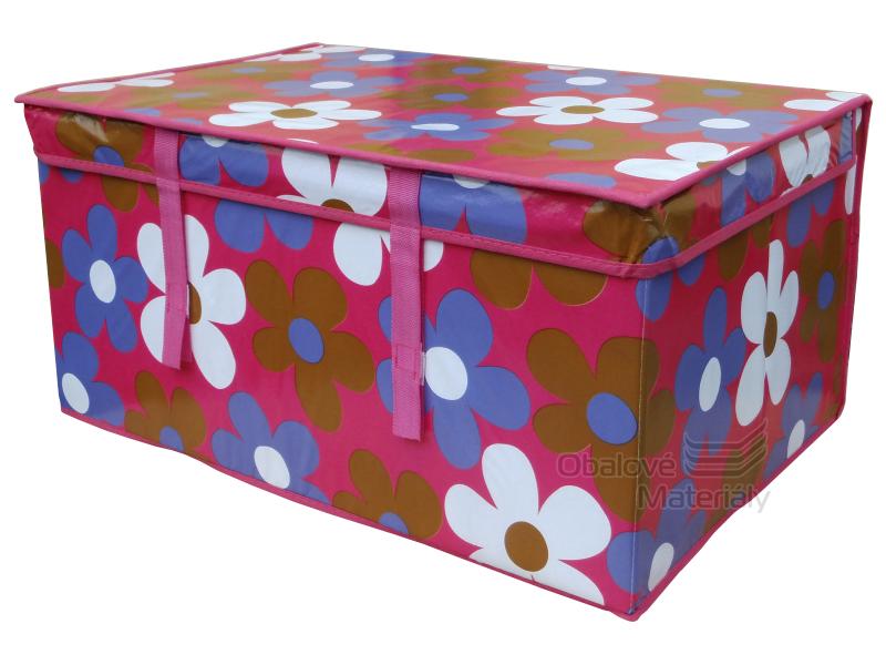 Skládací box 600*400*300 mm, látkový, 72 l